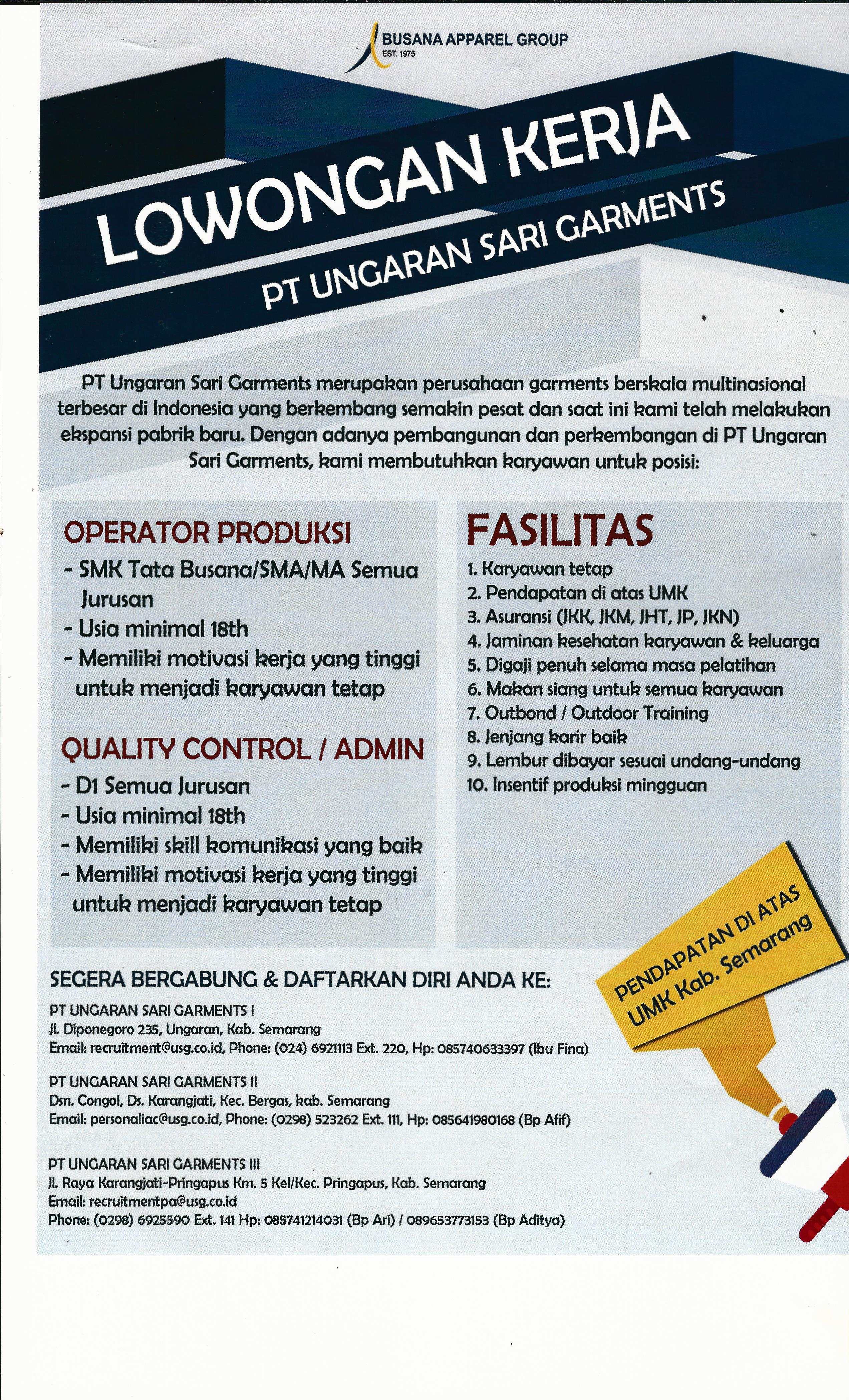 Lowongan Kerja Dinas Tenaga Kerja Dan Transmigrasi Kabupaten Grobogan