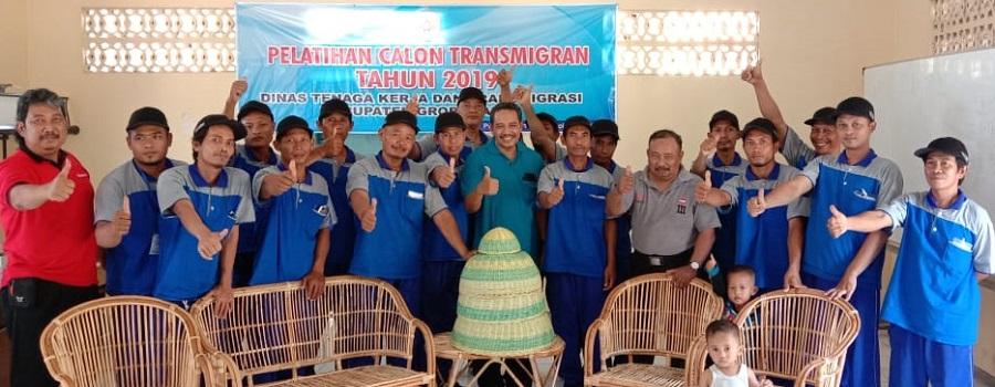 Pelatihan Calon Transmigran 2019